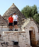 Puglia family trip photo